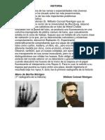 Apuntes de Historia de radiologia