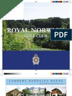 Royal Norwich brochure