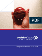 Positive Futures Cape Town – Programme Review 2007-2008