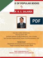 Brochure of Books RSSalaria