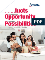 Amway OpportunityBrochure ENG
