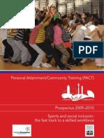 PACT Prospectus – 2009-2010