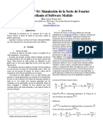 Serie de Fourier, en matlab
