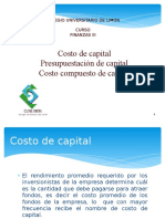 Tema1 - Costo de Capital