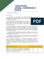 Doc. Original - Eixo 4 - Educação Profissional, Superior e a Distância