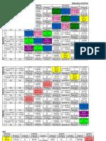 Modelo Horario General 2012