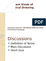 Different Kinds of Technical Drawing