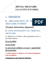 Cote d'Ivoire_Africa Military Legal Conference 2010