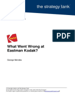 What Went Wrong at Eastman Kodak _Case study