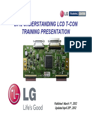 Tcon Training   Thin Film Transistor Liquid Crystal Display