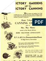WWII 1943 Victory Gardens I