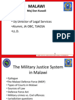 Malawi_Africa Military Legal Conference 2010
