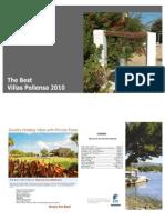 2010 The Best Villas Pollensa Brochure