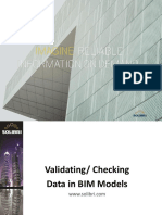 Validating Data in BIM Models