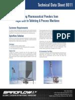 8011 Flexible Screw Conveyor Rigid IBC Pharma