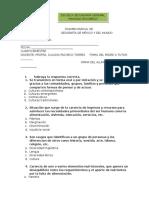 Examen Geografía (Cuarto Bimestre)