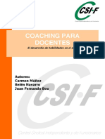 Importante Libro Coaching Docentes