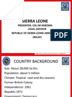 Sierra Leone_Africa Military Legal Conference 2010
