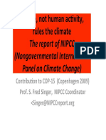 Nature – Not Human Activity – Rules the Climate