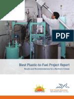Blest Plastic to Fuel Web