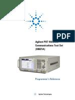 Programing Reference E6621-90007