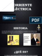 Corriente eléctrica- electromagnetismo