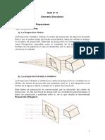 Guia No 11. Geometria Descritiva