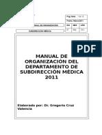 Manual de Organización 2011
