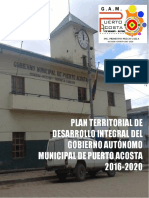 PTDI Municipio de Puerto Acosta