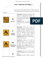 Sustancias Peligrosas - Simbolos de Peligro ___ Paritarios