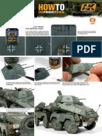 Ak 069 Streaking Grime for Panzer Grey