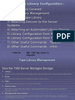 IBM Tape Library Configuration