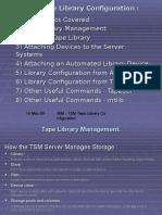 IBM Tape Library Configuration