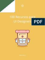 E-book 100 Recursos Para Ui Designers