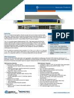 Memotec CX U 1240 RAN Optimizer