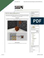 Todos Los Crafteos Minecraft 1.10