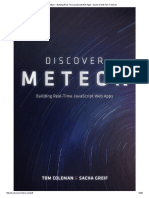Discover Meteor – Building Real-Time JavaScript Web Apps – Sacha Greif & Tom Coleman