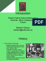 Eid Son Diesel Hybrids Presentation