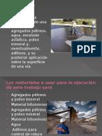 Lechada Asfaltica Caminos II
