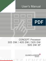 Manual Dw405