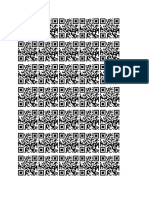 Page of QR codes