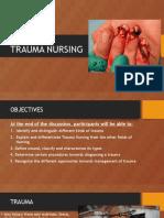 Trauma Nursing
