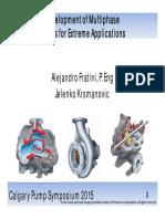 Multiphase Pumps