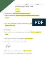 macromolecules study guide key  1