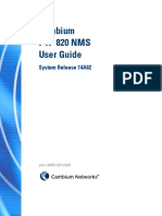 Ptp 820 Nms - User Guide