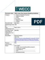 WECC Solar Plant Dynamic Modeling Guidelines
