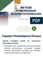 8.Metode Pemeriksaan Sitohistoteknologi(1)