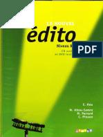 E. Heu - Le Nouvel Edito B1 (Livre d'Eleve) - 2012