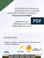 Intalaciones de biogas