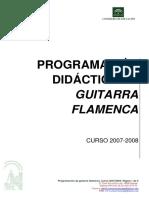 Programacion Guitarra Flamenca